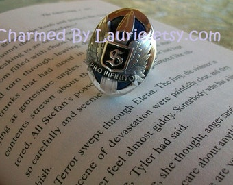 "Salvatore Family Crest ""S"" Ring - Pre Order On Sale"