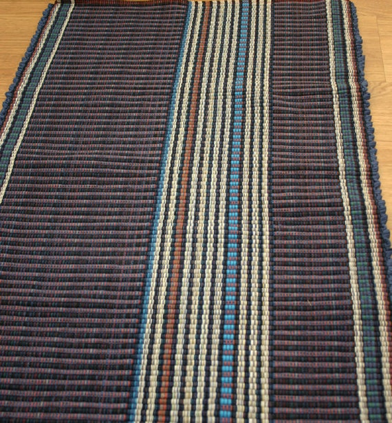 Cotton Rug Runner / Machine Washable Rag Rug 2 X 6