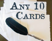 10-Pack of Handmade Cards - Pick Your Assortment