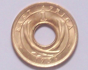 East Africa 1956 1 Cent Mint Condition