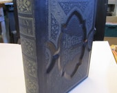 Example of Spine repair on 2 Large, old Bibles.
