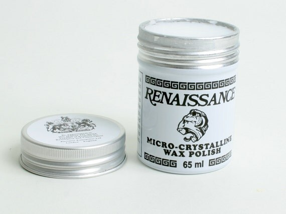 Brenda Recommended Finishing Wax - Renaissance Wax, 65ml (SUPL-01)