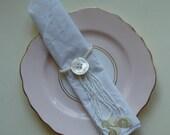 custom listing for ElleBecker 12 x tassel napkin rings