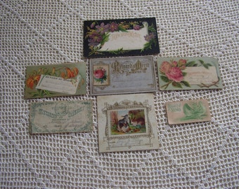 Vintage Reward of Merit Cards 7 Cards