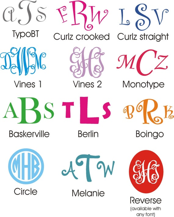 Large Wall Monogram 12 inches tall