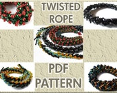PDF PATTERN Twisted Rope Tutorial