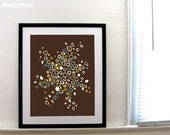 Earthly Constellation - 16x20 Extra Large Art Poster Print