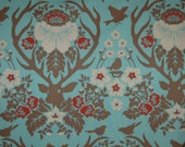 Fabric Joel Dewberry Deer Valley Antler Damask Celadon