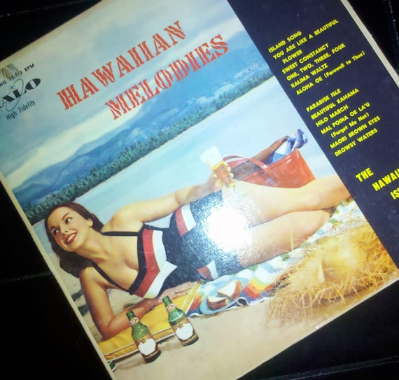 Vintage 'Hawaiian Melodies: the Hawaiian Islanders' Record (1957)