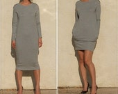 Everyday Dress-heather gray