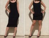Sleeveless Summer Everyday Dress-Black modal