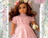 "Spring Gathering - Pretty Pioneer Pattern- for American Girl 18"" Dolls Dollhouse Designs DIGITAL DOWNLOAD"