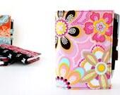 Teacher gift - day planner portfolio -  Dotty Flowers (LAST ONE)