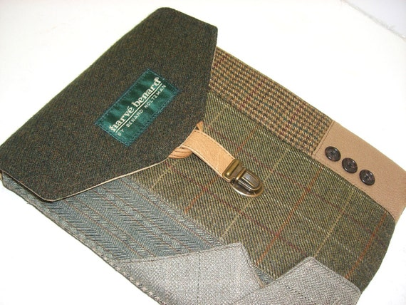 iPad Case, Eco Friendly, Recycled suit coat, Ready to Ship