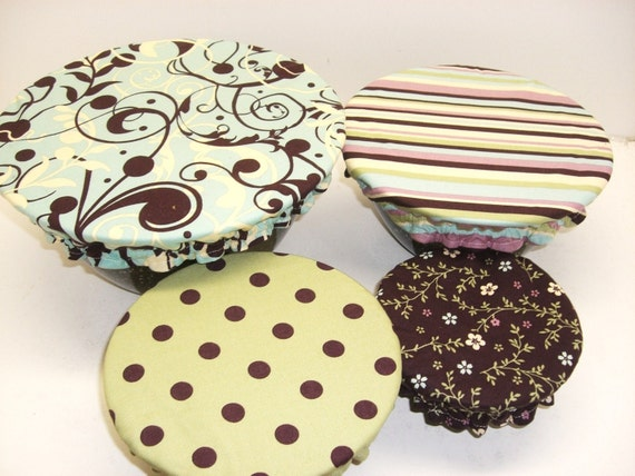 Reusable Bowl Covers,  Eco friendly, cotton bowl covers, Ready to Ship