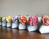 Bridesmaid Gifts Wedding Party Customize Your Bridesmaid Gift Clutch Purse Handmade Bag
