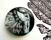RESERVED - Original Art Paper Weight - Shadow Wing