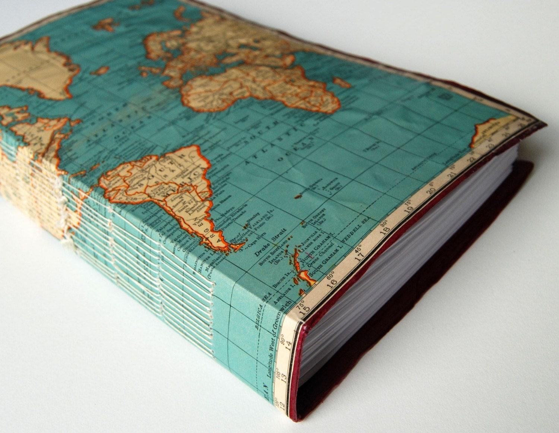 Travel Photobook Cover Ideas ~ The traveler journal sketchbook
