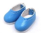 Slip-on bleu, Brownie, melatis S00031E