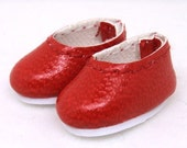 Red Slip-On for Brownie, Pukipuki S00031C