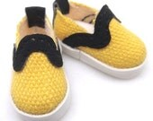 Yellow Canvas Sneakers Lati Yellow PukiFee Riley Kish S00001A
