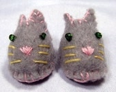 Grey Mouse Pet Slippers for Lati Yellow, PukiFee, Riley Kish, Tulah Kish, Bobobie Nissa, DIM Silf, Dollk S00035G