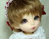 Flower Dress Set for Tiny BJD, Lati Yellow, PukiFee, Dollk C00004A
