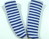 Blue & White Striped Socks for YO-SD, LittleFee, Petite Ai, Ange Ai, Ciao Bella K00004F