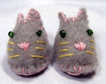 Grey Mouse Pet Slippers for Lati Yellow, PukiFee, Riley Kish, Tulah Kish, Bobobie Nissa, DIM Silf, Dollk S00035G