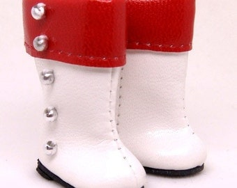 Red Space Boots for Lati Yellow, PukiFee, Dollk S00041A