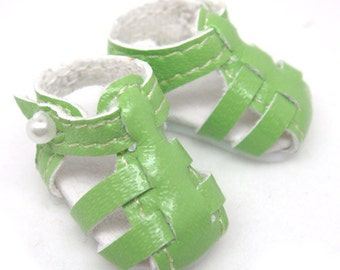 Green Strappy Sandals for Lati Yellow, PukiFee, Riley Kish, DIM Silf, Dollk S00003E