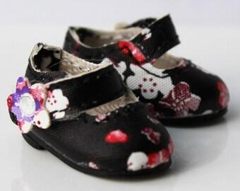 Black Flowers Mary Janes for Lati Yellow, PukiFee, Riley Kish, Tulah Kish, Bobobie Nissa, DIM Silf, Dollk S00002N