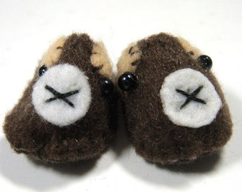 Brown Bear Pet Slippers for Lati Yellow, PukiFee, Riley Kish, Tulah Kish, Bobobie Nissa, DIM Silf, Dollk S00035H