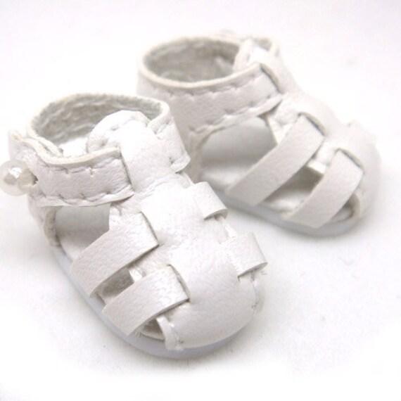 White Strappy Sandals for Lati Yellow, PukiFee, Riley Kish, DIM Silf, Dollk S00003A