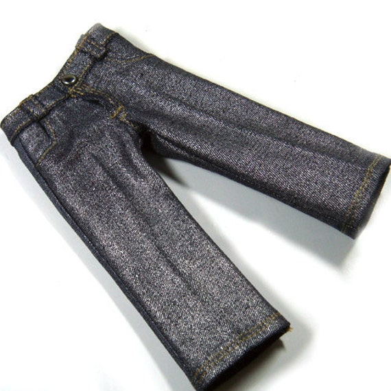 Silver 4-Pockets Jeans for YO-SD, LittleFee C00023D