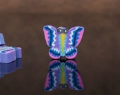 Polymer Clay Butterfly Butterflies Pink Purple Blue Pack of 42