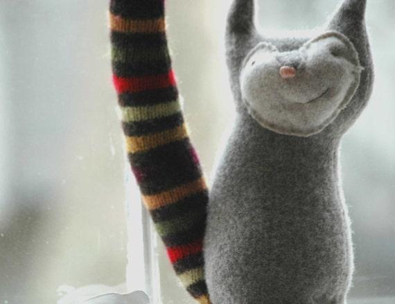 Rib-Tickler Wool Cat Oscar