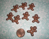 Gingerbread Iced Cookie Buttons