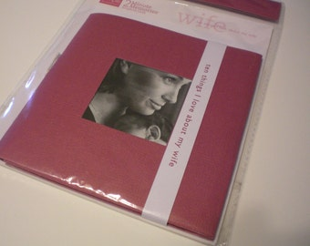 Blank Mini Album for Wife on SALE