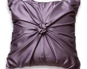 Lilac Purple Pillow Cover 16 In ROSETTE DESIGN