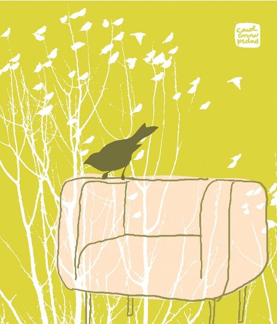 Carococo ArtPrint by Carol-Anne Pedneault / En attendant l'hiver/ waiting for winter /  8x10