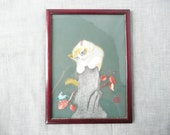 Chinese Cat Silk Embroidery