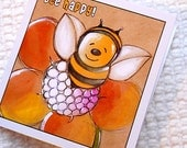 Gift Tag with Envelope - Bee Happy