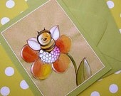 Greeting Card with Envelope - Leah the Bee Cards