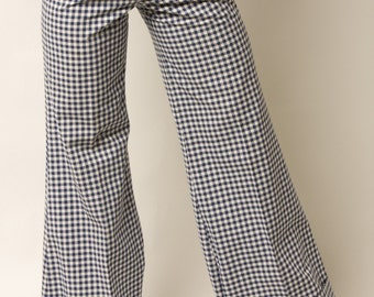 REDUCED PRICE!! Gingham Bell Bottoms