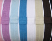 YOUR CHOICE INTERCHANGEABLE ELASTIC HEADBAND - SOLIDS and PRINTS