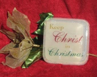 Keep Christ in Christmas Glycerin Soap Bar