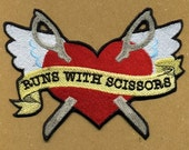 Runs With Scissors Patch