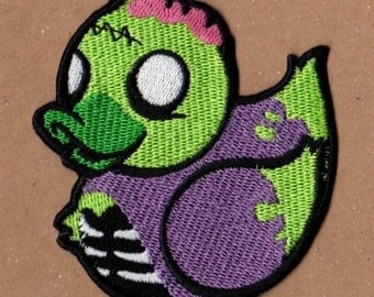 Zombie Rubber Ducky Patch