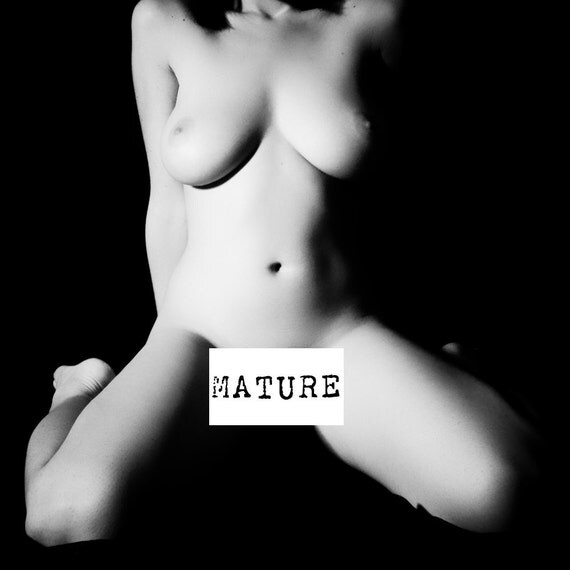 Fine Black Mature 106